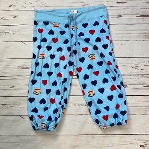 Paul Frank Crop Heart Pajamas Size M